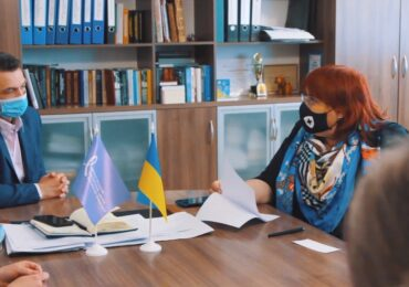 До Чернігівського медичного центру сучасної онкології завітала директор Північного міжрегіонального департаменту НСЗУ Вікторія Мілютіна.